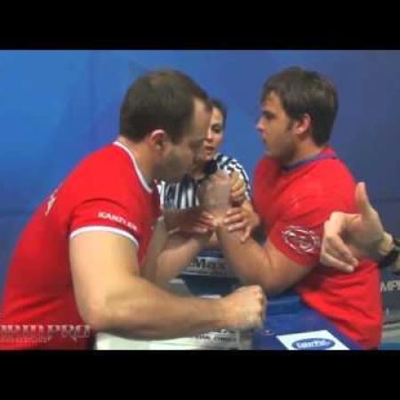 Ivan Matyushenko vs  Artem Grishin RUS14 left