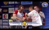 Ivan MATYUSHENKO vs Krasimir KOSTADINOV (Final EUROARM 2015, BULGARIA)